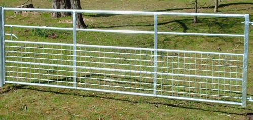 Bild på Väggrind med nät, 366 cm