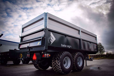 Bild på Dumpervagn Pro 16ton - HARDOX IN MY BODY