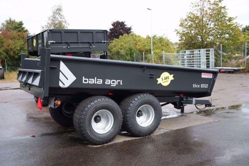 Bild på Dumpervagn 8 ton obromsad - HARDOX IN MY BODY