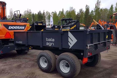 Bild på Schaktkärra 8 ton bromsad