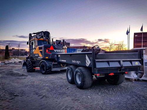 Bild på Dumpervagn 9 ton bromsad - HARDOX IN MY BODY