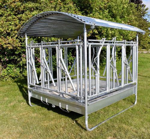Bild på Foderhäck 12 platser, med låsbara bogstöd