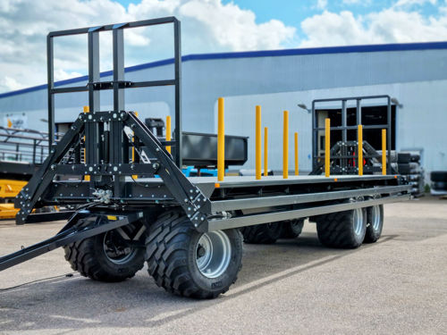 Bild på Balvagn 22 ton 9,5m 710-hjul